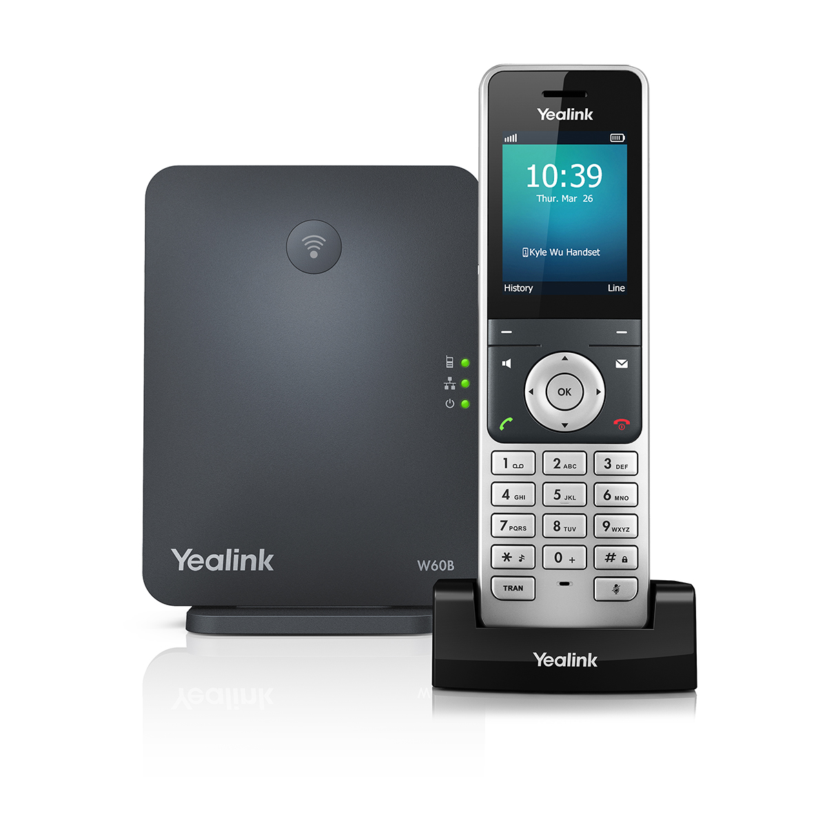Yealink High-Performance IP DECT Phone System