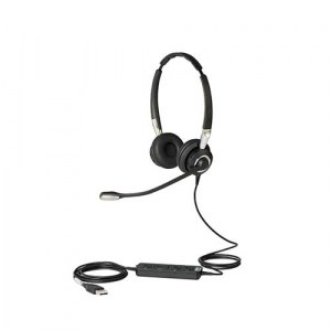 BIZ 2400 | Jabra BIZ 2400 II Duo USB Ms Headset - Headset and Cords