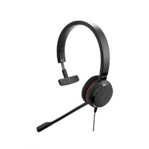 EVOLVE-30-MONO | Jabra Mono Wired USB Headset - Side