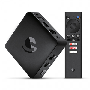 Ematic 4K Ultra HD Android TV Box with remote