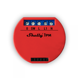 SHELLY_1PM | Smart Wi-Fi Relay (Single Channel) with Power Monitoring -Top