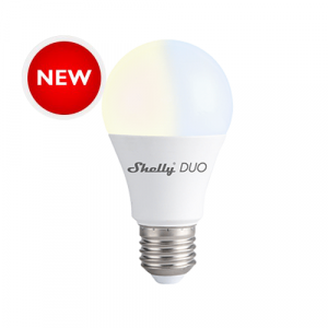 SHELLY_DUO | Shelly Smart Bulb (Wi-Fi) Round - NEW