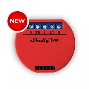 SHELLY_1PM | Smart Wi-Fi Relay (Single Channel) with Power Monitoring -NEW