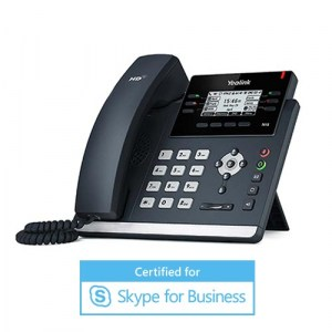 SIP-T41S-MS | Yealink Fast Ethernet Desktop IP Phone for Skype for Business