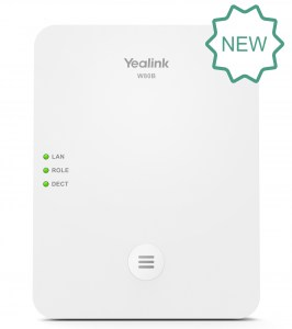 W80B | Yealink Multi-Cell DECT Base Station - Front
