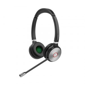 WH62-DUO | Yealink DECT Wireless On-Ear Stereo Headset - Front