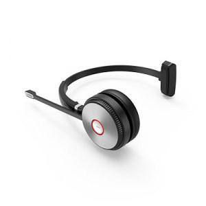 WH62-MONO | Yealink DECT Wireless On-Ear Mono Headset - Side
