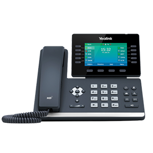 SIP-T54W | Yealink Dual-Band Wi-Fi Phone - Front