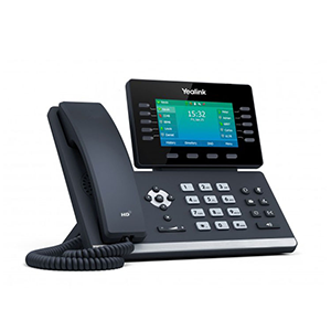 SIP-T54W | Yealink Dual-Band Wi-Fi Phone - Left