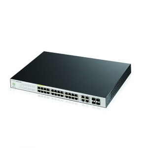 NSW100-28P | Zyxel Nebula Cloud Managed Switch