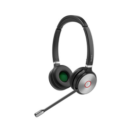 Yealink DECT Wireless On-Ear Stereo Headset with Touch Screen Base Station
