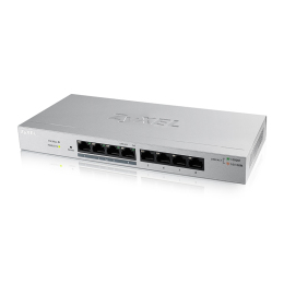 Zyxel 8-Port GbE Web Managed PoE Switch